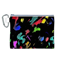Painter was here Canvas Cosmetic Bag (L)