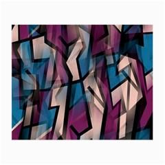 Purple high art Small Glasses Cloth