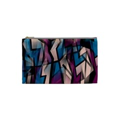 Purple high art Cosmetic Bag (Small)