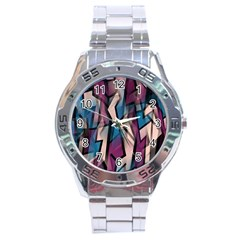 Purple high art Stainless Steel Analogue Watch