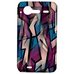 Purple high art HTC Incredible S Hardshell Case