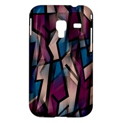 Purple high art Samsung Galaxy Ace Plus S7500 Hardshell Case