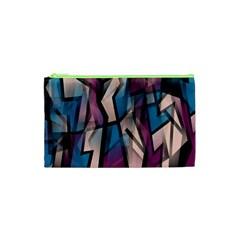 Purple high art Cosmetic Bag (XS)
