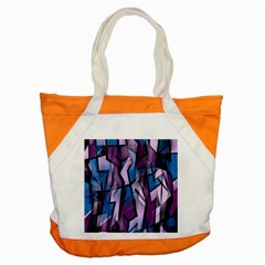Purple decorative abstract art Accent Tote Bag