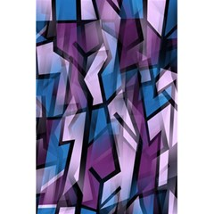 Purple decorative abstract art 5.5  x 8.5  Notebooks