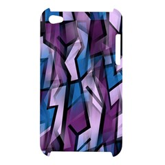 Purple decorative abstract art Apple iPod Touch 4