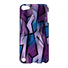 Purple decorative abstract art Apple iPod Touch 5 Hardshell Case