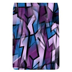 Purple decorative abstract art Flap Covers (S)
