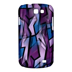 Purple decorative abstract art Samsung Galaxy Express I8730 Hardshell Case