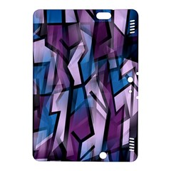 Purple decorative abstract art Kindle Fire HDX 8.9  Hardshell Case