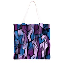 Purple decorative abstract art Grocery Light Tote Bag