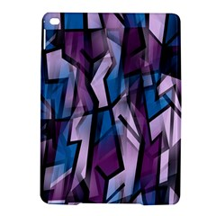 Purple decorative abstract art iPad Air 2 Hardshell Cases