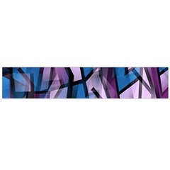 Purple decorative abstract art Flano Scarf (Large)