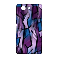Purple decorative abstract art Sony Xperia Z3 Compact