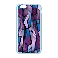 Purple decorative abstract art Apple Seamless iPhone 6/6S Case (Color)
