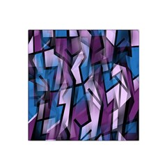 Purple decorative abstract art Satin Bandana Scarf