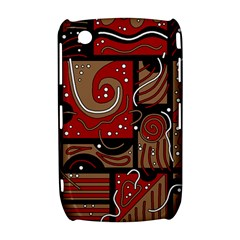 Red and brown abstraction Curve 8520 9300