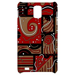 Red and brown abstraction Samsung Infuse 4G Hardshell Case