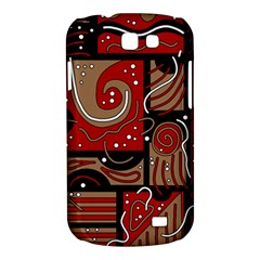 Red and brown abstraction Samsung Galaxy Express I8730 Hardshell Case