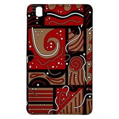 Red and brown abstraction Samsung Galaxy Tab Pro 8.4 Hardshell Case