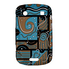 Blue and brown abstraction Bold Touch 9900 9930