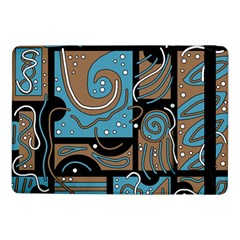 Blue and brown abstraction Samsung Galaxy Tab Pro 10.1  Flip Case