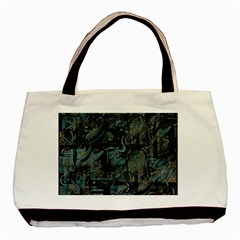 Blue town Basic Tote Bag (Two Sides)