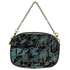 Blue town Chain Purses (One Side)