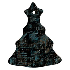 Blue town Ornament (Christmas Tree)