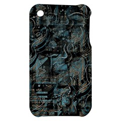 Blue town Apple iPhone 3G/3GS Hardshell Case