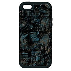 Blue town Apple iPhone 5 Hardshell Case (PC+Silicone)