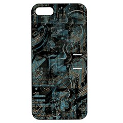 Blue town Apple iPhone 5 Hardshell Case with Stand