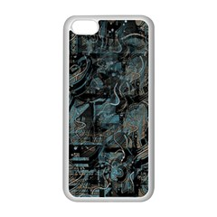 Blue Town Apple Iphone 5c Seamless Case (white)