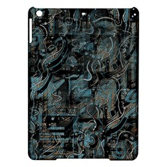 Blue town iPad Air Hardshell Cases