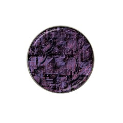 Purple town Hat Clip Ball Marker (10 pack)