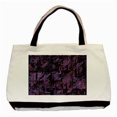 Purple town Basic Tote Bag (Two Sides)