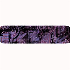 Purple town Large Bar Mats
