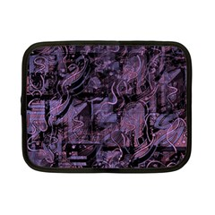 Purple town Netbook Case (Small)