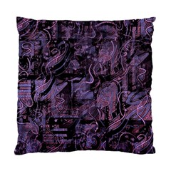 Purple town Standard Cushion Case (Two Sides)
