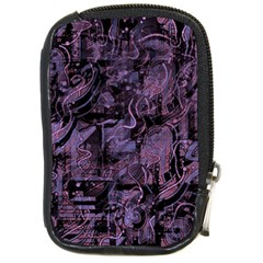 Purple town Compact Camera Cases