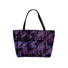 Purple town Shoulder Handbags