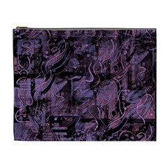 Purple town Cosmetic Bag (XL)