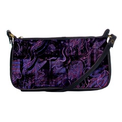 Purple town Shoulder Clutch Bags