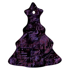 Purple town Ornament (Christmas Tree)