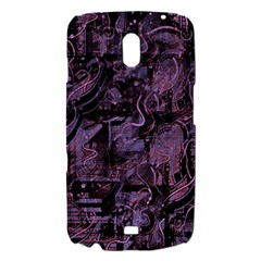 Purple town Samsung Galaxy Nexus i9250 Hardshell Case