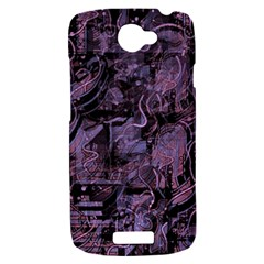 Purple town HTC One S Hardshell Case