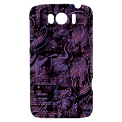 Purple town HTC Sensation XL Hardshell Case