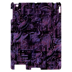 Purple town Apple iPad 2 Hardshell Case