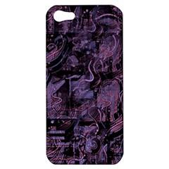 Purple town Apple iPhone 5 Hardshell Case