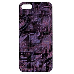 Purple town Apple iPhone 5 Hardshell Case with Stand